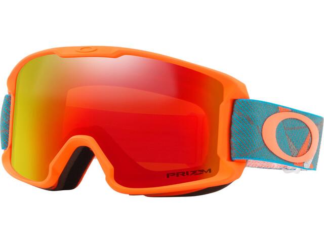 9d101baac3 Oakley Line Miner - Gafas de esquí Niños - rojo/Multicolor | Campz.es